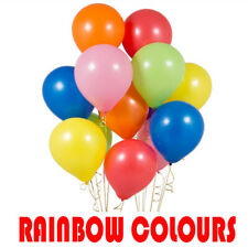 """5"""" Assorted Rainbow 6 Color Mix Latex Party Balloons Helium/Air Fill Event Decor"""
