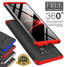 Samsung Galaxy S9 S8+ Shockproof 360° Case Cover+Full Coverage Screen Protector