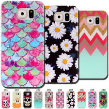 For Samsung Galaxy Silicone Skin Rubber Soft TPU Matte Painted Case Cover Back