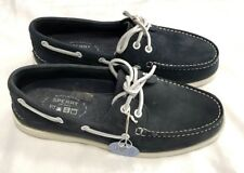 Sperry Top-Sider A/O 2-Eye Washable Deck / Boat Shoe, Navy