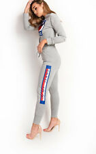 IKRUSH Womens Marina Slim Fit Slogan Tracksuit