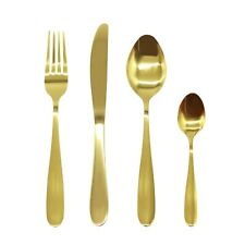 Stainless Steel Cutlery Sets 16/24/32piece Gold,Rainbow Iridescent Wedding Party