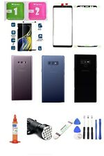 Samsung Galaxy Note 9 N960 Front Screen Glass & Back Battery Cover Replacement
