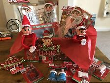 Christmas Elf on a Shelf Style Gift Set Including Elf & Lots of Accessories