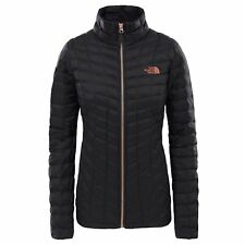 The North Face Thermoball Full Zip Womens Jacket - Tnf Black/metallic Copper