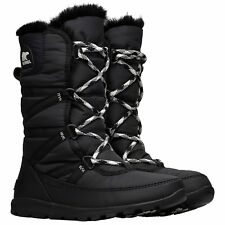 Sorel Whitney Tall Lace Ii Womens Boots - Black All Sizes
