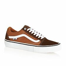Vans Pro Skate Old Skool Unisexe Chaussures Chaussure - Potting Soil Leather