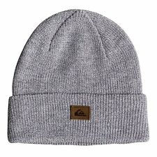 Quiksilver Performed Homme Couvre-chefs Bonnet - Snow White Heather Une Taille