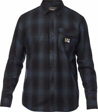 Fox Racing Voyd Flannel Homme Chemise - Nvy Toutes Tailles