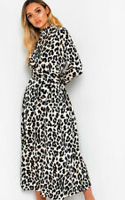 IKRUSH Womens Cassie Printed Belted Maxi Dress