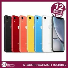 Apple iPhone XR A2105 64GB/128GB Mobile Smartphone Blue EE Pristine Condition