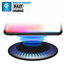 Qi Wireless Caricabatterie Caricatore Fast Charger Pad Per Samsung Note9/Mate 20