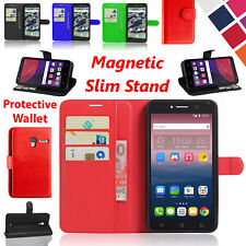 "Ultra Slim Case Flip Cover For Alcatel Pixi 4 4"" 4G 4 5 Inch Mobile Stand Wallet"