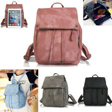 Women Backpack PU Leather Shoulder School Bag Book Travel Handbag Rucksack Bag