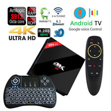 Octa Core H96 Pro+ 4K VOICE CONTROL 16GB/2GB Bluetooth WiFi Android 1080p TV Box