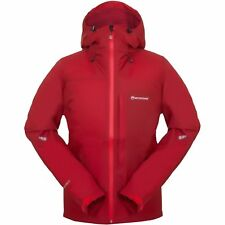 Montane Minimus Mens Jacket Coat - Alpine Red All Sizes