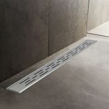 600mm to 1500mm Stainless Steel Wetroom Shower Drain Channel Trap Gully (#1)