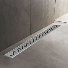 600mm to 1500mm Stainless Steel Wetroom Shower Drain Channel Trap Gully (#3)