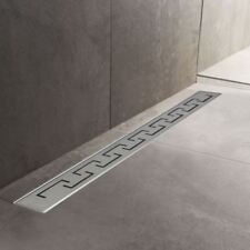600mm to 1500mm Stainless Steel Wetroom Shower Drain Channel Trap Gully (#5)