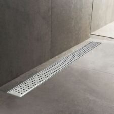 600mm to 1500mm Stainless Steel Wetroom Shower Drain Channel Trap Gully (#7)