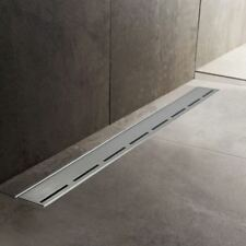 600mm to 1500mm Stainless Steel Wetroom Shower Drain Channel Trap Gully (#8)