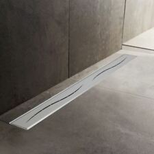 600mm to 1500mm Stainless Steel Wetroom Shower Drain Channel Trap Gully (#10)