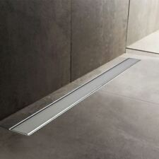 600mm to 1500mm Stainless Steel Wetroom Shower Drain Channel Trap Gully (#11)