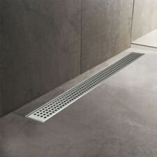 300mm to 2000mm Stainless Steel Wetroom Shower Drain Channel Trap Gully (#13)
