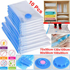 STRONG VACUUM STORAGE SAVING SPACE BAGS VAC BAG SPACE SAVER VACUM VACCUM BAG
