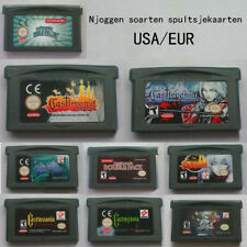 Game cartridge for GBM NDS NDSL GBASP GBA console fit English, French, Deutsch