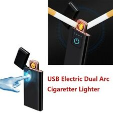 USB Fingerprint Touch Electric Lighter Flameless Rechargeable Windproof 4 Colors