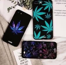 Soft Silicone Phone Case For iPhone 6 6s Plus Leaves Patterned Cases For iPhone