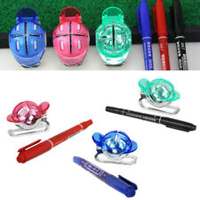 Universal Golf Ball Line Marker Putting Line Drawing Alignment Tool with Pen