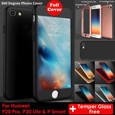 For Huawei P20 Lite/Pro 360° Full Protective Hybrid Case Plus Free Temper Glass