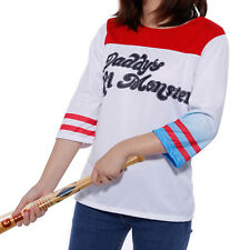 Cosplay Costume Donna Travestimento T-shirt Blusa da Harley Quinn Suicide Squad
