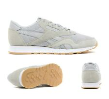 8ba5a776ecf Reebok Shoes Trainers CL Nylon V67671 White Grey Mens various ...
