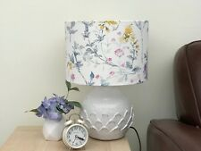Wild Meadow Floral Drum Lampshade Laura Ashley Fabric Table/Floor/Ceiling 3 size