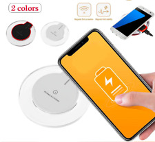 Qi Wireless Charger Fast Charging Dock Pad For Samsung Galaxy Apple iPhone X S8