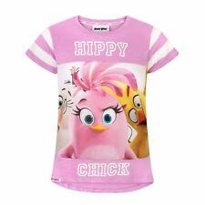 Angry Birds - T-shirt à manches courtes - Fille (NS346)
