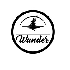 Wander decal for Yeti  Decal for Car  Canoe Sticker  Kayak Sticker