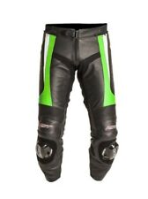 RST Tractech Evo II Leather Motorcycle Jeans / Trousers - Green
