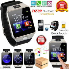UPGRADED DZ09 Bluetooth Smart Watch Phone + Camera SIM SLOT For Android IOS UK