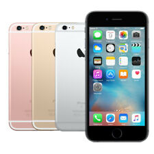 Apple iPhone 6S 16GB 32GB 64GB 128GB Spacegrau Silber Rose Gold Akzeptabel WOW