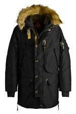 NWT Parajumpers Kodiak Eco Men's Parka Black PMJCKME02