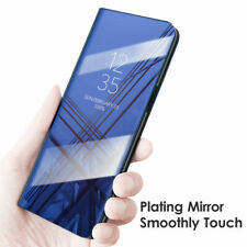 360 Degree Protective Mirror View Flip Stand Case Cover  For Huawei P20/Lite Pro