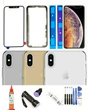 iPhone Xs Max Front Screen Glass Replacement Lens  Back Glass Complete Kit