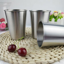 Stainless Steel Cup Mug Drinking Coffee Wine Tumbler Camping Travel Picnic Tools