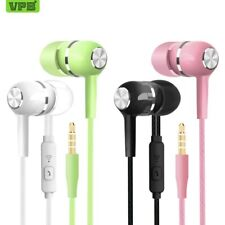 VPB S12 Sport Earphone wholesale Wired Super Bass 3.5mm Crack Colorful Headset