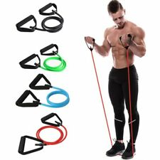 Yoga Pull Rope Elastic Resistance Bands Fitness Workout Exercise Tubes