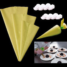 Silicone Reusable Icing Piping Nozzle Cream Pastry Bags DIY Cake Decor Utensil